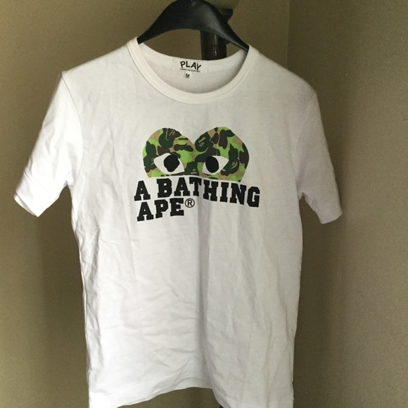 04a6da6d Bape Shirts | Comme Des Garcons T Shirt | Poshmark